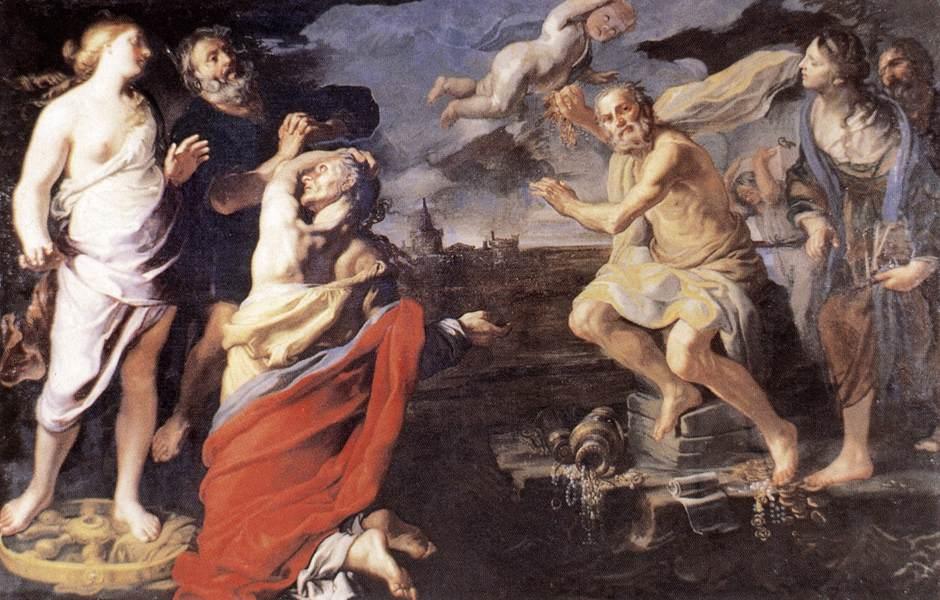 Mei allegory of fortune 1660s rome galleria nazionale d
